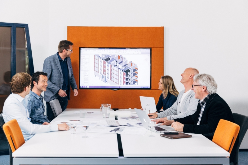 Bouwnext kantoor - BIM tafel