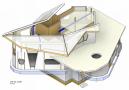 hoofddraagconstructie, 2e verdieping